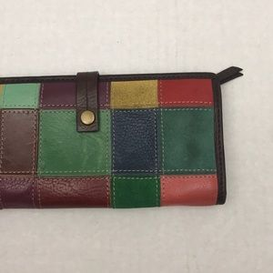 Wilson Leather Patchwork Leather Wallet